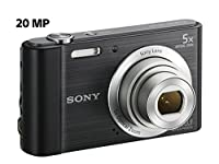 Sony Cyber-shot DSC-W800 Digital Camera (Black) by Sony