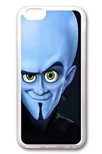 iPhone 6 Case, iPhone 6 Cases - Top Quality Clear Soft Case for iPhone 6 Megamind Stylish Crystal Clear Rubber Case Cover for iPhone 6 4.7 Inches
