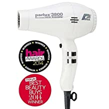 Parlux 3800 Ionic and Ceramic Hair Dryer (White) by Parlux