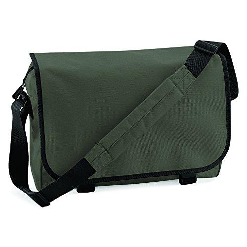BagBase bolsa de mensajero verde - Olive Green