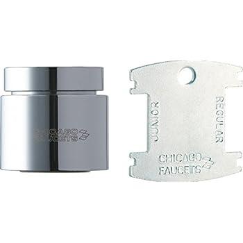 Chicago Faucets E3JKCP 2.2 GPM softflo aerator  Quantity 3
