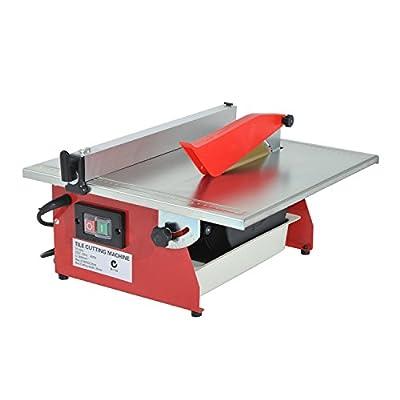 "HomCom 7"" Portable Table Wet Cutting Tile Saw"