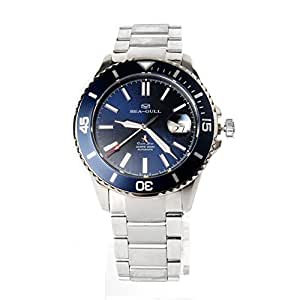 Seagull Ocean Star Automatic Men's Diving Swimming Watch Blue Dial 816.523