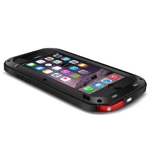 LoveMei Coque de protection waterproof / antichoc / antipoussière / Métal Aluminium pour iPhone 6 - Argent