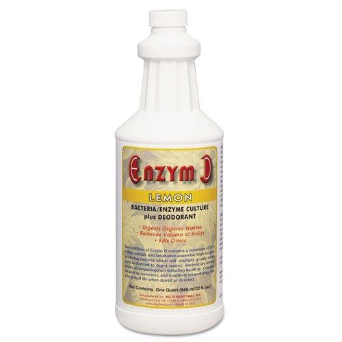 Big D Industries Enzym D Digester Liquid Deodorant, Lemon...