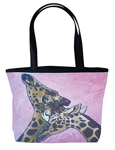 Shoulder Bag, Vegan Tote Bag, Handbag- Animals - From My Original Painting, Comfort - Support Wildlife -