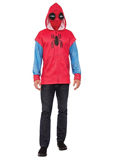 Rubie's Spider-Man: Homecoming Adult Homemade Suit Costume Hoodie, -
