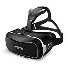 ELEGIANT GD-02 3D VR Headset Smart Virtual Reality Glasses 3D VR Glasses Home Theatre Helmet Headset for iPhone 6s/6 plus/6/5s/5c/5 Samsung Galaxy s5/s6/note4/note5 and Any 4.0-6.1 Inch Smartphone