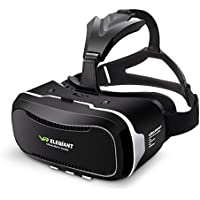 VR Headset,ELEGIANT 3D VR Glasses Virtual Reality Box for 3D Movies Video Games, for iPhone 7 Plus 6 Plus 6s Samsung S7 S6 Edge S5 Note 5 Other 4.0-6.0 Inches Smartphones
