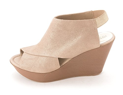 Kenneth Cole Reaction - Sandalias de vestir para mujer plateado