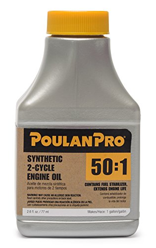 (Poulan Pro 2.6 oz 50:1 Synthetic 2-Cycle Oil)