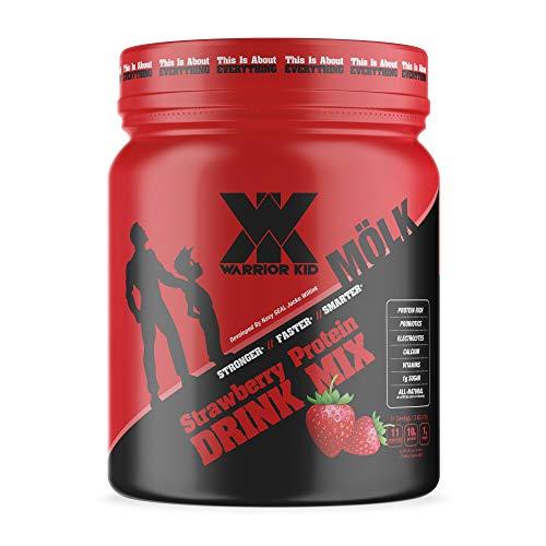 Warrior Kid Strawberry Protein Drink Mix - 1 Pound