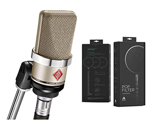Neumann TLM 102 Nickel + Pop Audio Studio Edition by Neumann