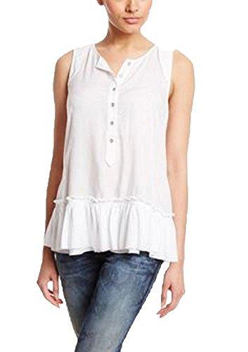 Diesel Women's T-Dora Sleeveless Tank Top (X-Small, White)