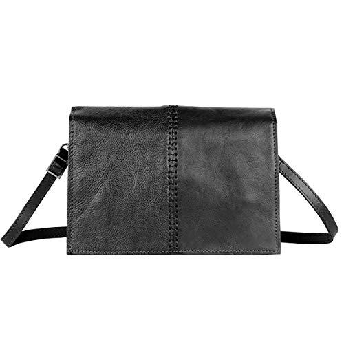 Cuir En Petit Main Carré Bag En Couche à La Tannage Rétro Mode Sac Noir Nouvelle 2018 Sac Tête Végétal Sac Cuir De Messenger Femme wpTRFYxqX