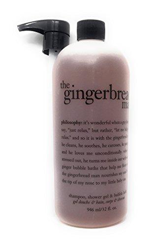 Philosophy Gingerbread Man 32 oz Shampoo, shower gel & bubble bath with pump