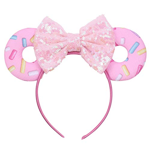 4th Of July Dance Costumes - YanJie Mouse Ears Bow Headbands, Glitter
