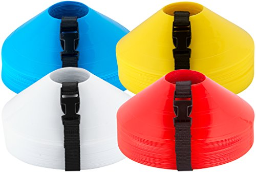 American Challenge Soccer Sports Disc Cones Yellow (25 Count)