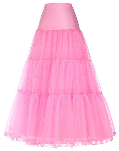 Jupon Rétro Petticoat Vintage Smith Jack Femme 421 Rose En Crinoline Tulle pqCFwHgtx