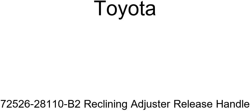 TOYOTA Genuine 72526-28110-C0 Reclining Adjuster Release Handle