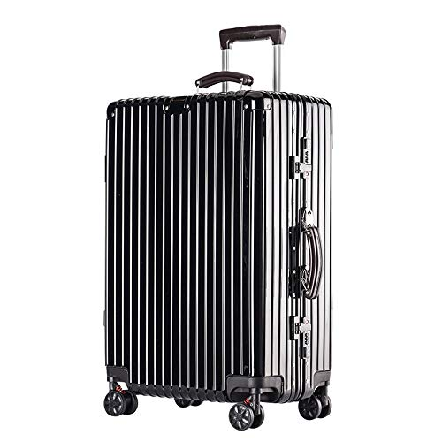 2 Waterproof and Anti-Collision Stylish Small Fresh Anti-Scratch Caster Student Large Capacity Password Suitcase YD Luggage Set Trolley case Adjustable Lever ABS//PC 5 Colors