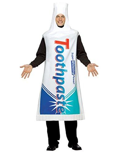 Toothpaste Costume Adult -