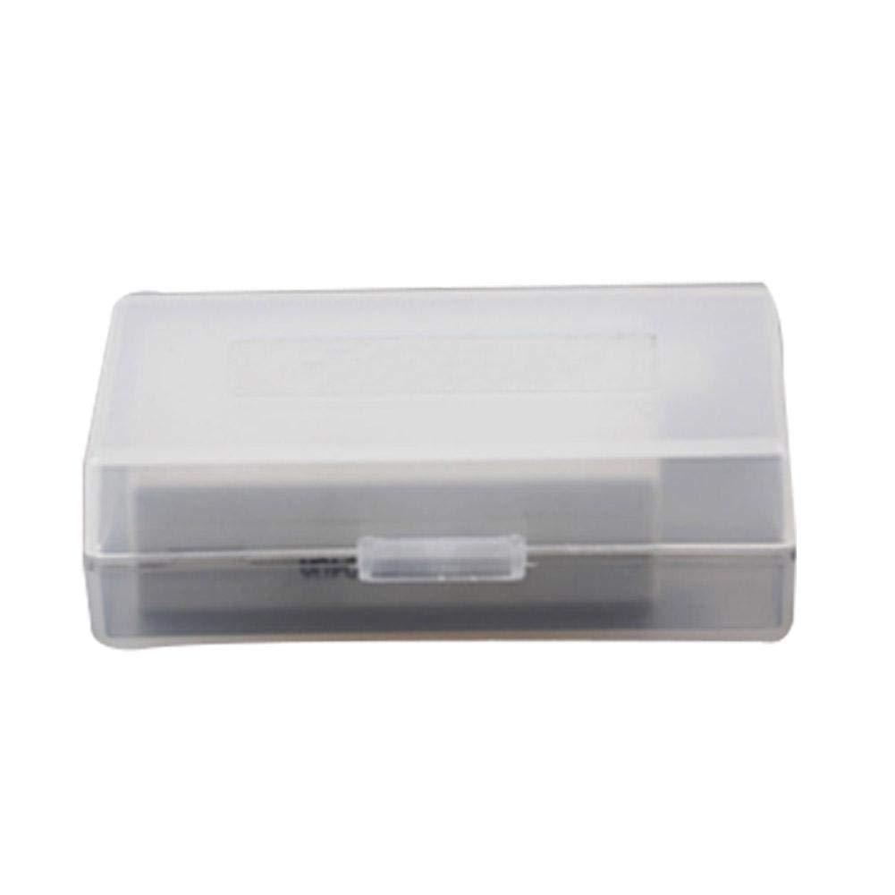 Lijuan Qin 大型バッテリーボックス 10個 一眼レフカメラバッテリー保護収納ケース 傷防止透明ホルダー S DB0139201t14l B07PPMT4CK  Small