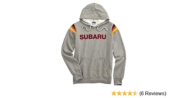Small SUBARU Genuine Logo Eco-Fleece Hooded Full-Zip Hoodie Impreza STI WRX Forester Outback Ascent Legacy Crosstrek BRZ