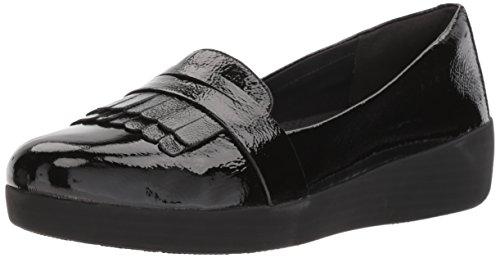Fitflop Fringey Sneakerloafer Scarpe Uk4.5 Noir