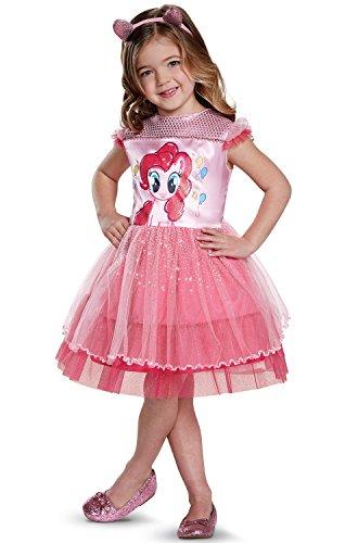 Pinkie Pie Movie Toddler Classic Costume, Pink, Medium
