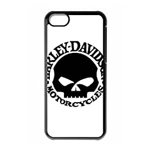 iPhone 5c Cell Phone Case Black Harley Davidson ZNB Cell Phone Case 3D Plastic