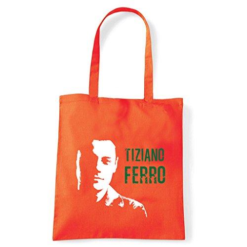 Arancio Bolso Art Shoulder Tiziano Hierro Camiseta fx6X0np