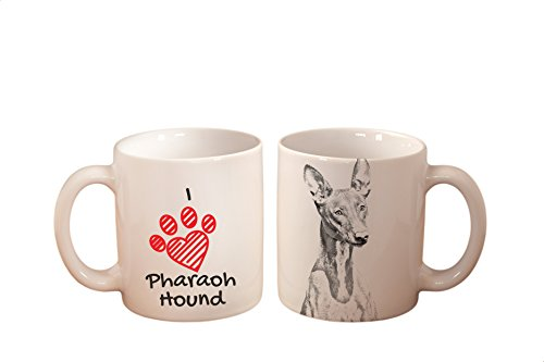 Pharaoh Hound, mug with a dog,, cup, ceramic, new collection