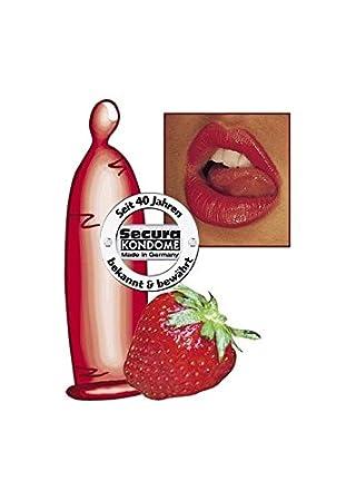 kondome mit erdbeergeschmack