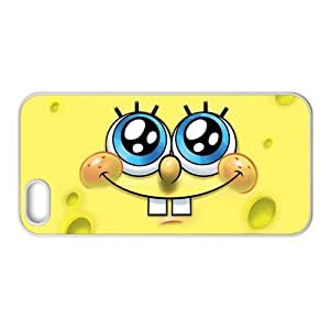 Classic Television Animation&SpongeBob SquarePants Theme Case Cover for iPhone 5/5S- Personalized Hard Cell Phone Back Protective Case Shell-Perfect as gift