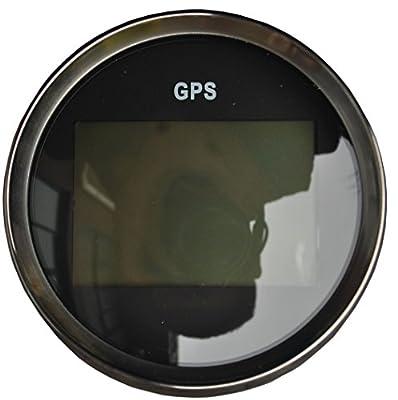 Sican MPH SOG COG ODO TRIP Meter For Motorcycle Car Truck Boat Yacht Digital GPS LCD Speedometer Gauges 85mm 12/24V Version