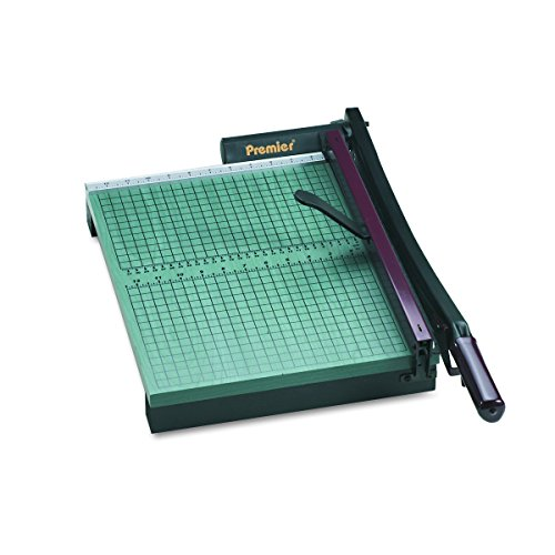 Premier StakCut Green Board Trimmer, Steel Blade, Cut Stacks of up to 30 Sheets, Green (PRE715) by Premier