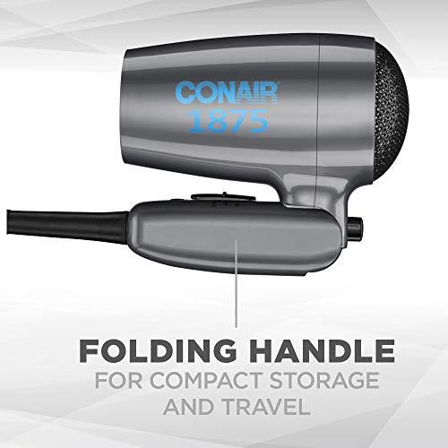 Travel Hair Dryer Compact Folding Handle Hair Dryer High