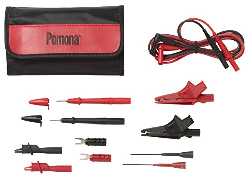 (Pomona 5673B D mm Test Lead Kit, Electrical (Pack of 13))