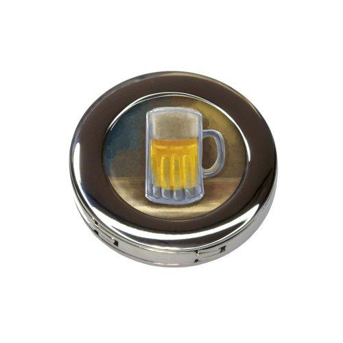 German Beer Mug Foldable Retractable Purse Bag Handbag Hook Hanger Holder