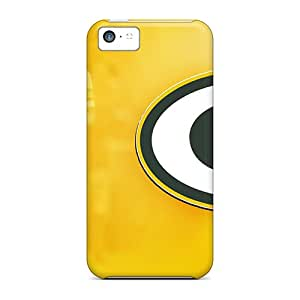 Tpu Fashionable Design Green Bay Packers Rugged Case Cover For Iphone 5c New