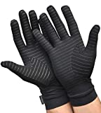 Medipaq Anti Arthritis Copper Compression Therapy Gloves with Grip