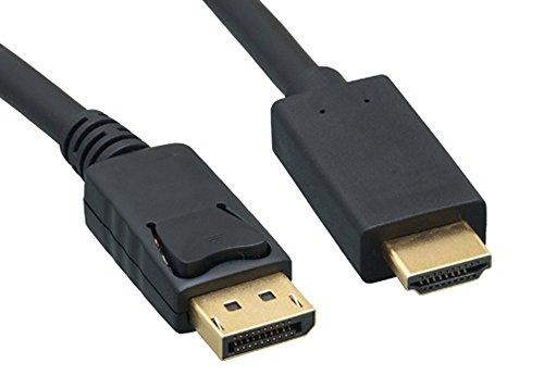 Cablelera 4K DisplayPort to HDMI Cable (ZC2520MM-10)