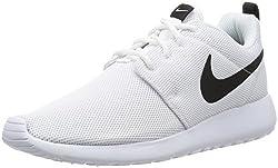 Nike Womens Roshe One Running Shoes (8 B(m) Us)(whitewhiteblack)