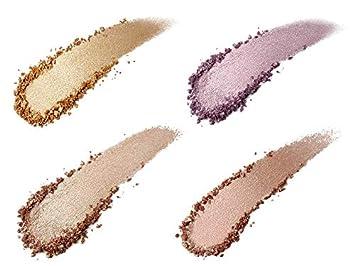 Aesthetica Starlite Highlighter – Metallic Shimmer Highlighting Makeup Powder All 4 Shades Brush