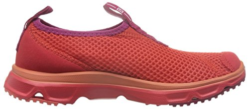 0 Women's Salomon POPPY RX SANGRIA RED 3 Wandern Sandelholze POPPY Moc SS17 RED IrOtwqnO
