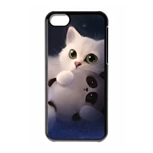 MMZ DIY PHONE CASEALICASE Diy Hard Shell Case Lovely Cat For iphone 6 plus 5.5 inch [Pattern-1]
