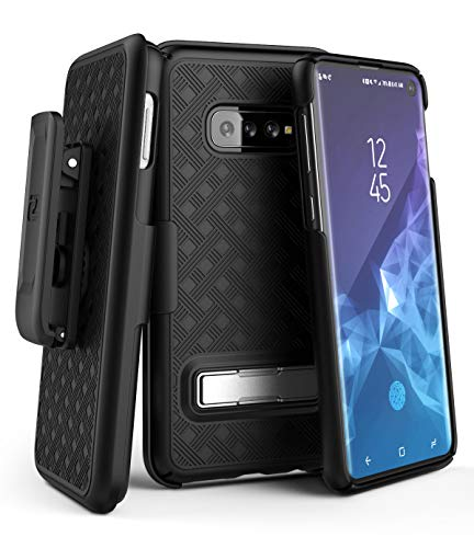 Encased Galaxy S10 Belt Case with Kickstand (2019...