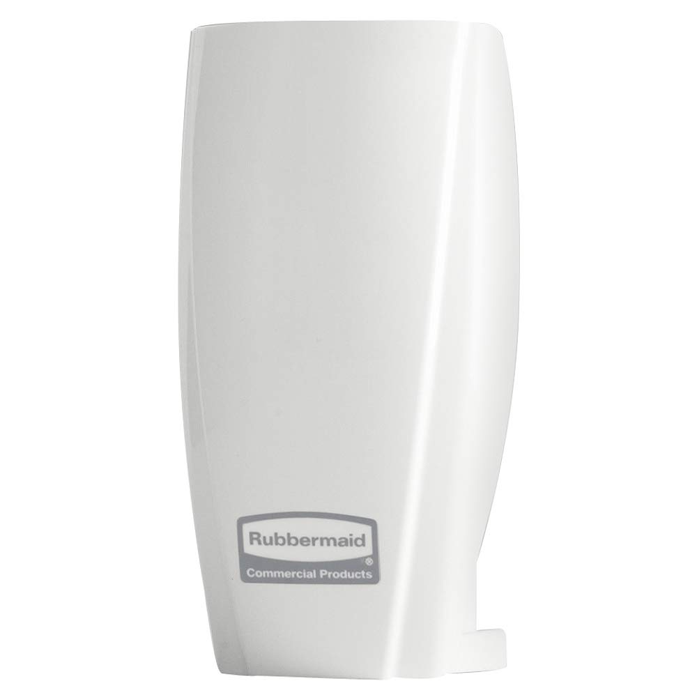 Rubbermaid Commercial Products 1793547 TCell Automated Odor-Controlling Aerosol Air Care System, Fanless, White