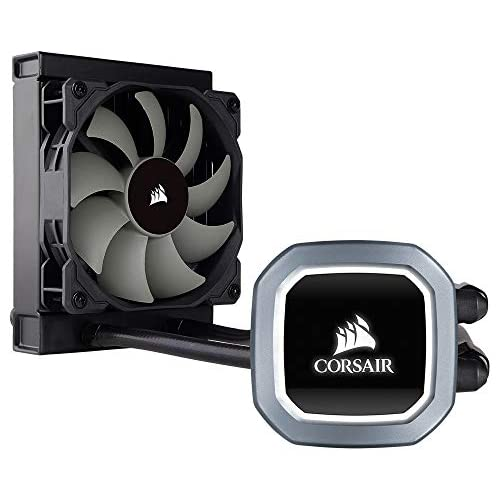 chollos oferta descuentos barato Corsair Hydro Series H60 2018 Sistema de refrigeración líquida para CPU radiador de 120 mm ventilador PWM All in One LED blanco Negro